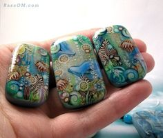 CUSTOM ORDER underwater, smiling dolphins, seahorse, fish