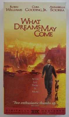 VHS Movie - What Dreams May Come 1998 Robin Williams