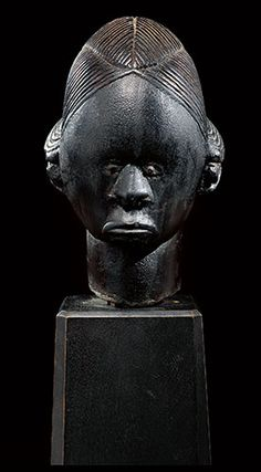 Fang reliquary head, Gabon - In Pursuit of Beauty: The Myron Kunin Collection of African Art | Sotheby's