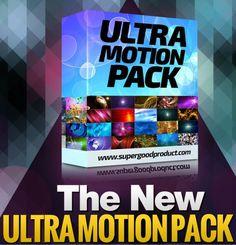 Ein brandneues atemberaubendes HD Motion-Hintergründe-Paket  wurde gerade veröffentlicht!