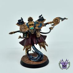 Thousand sons (Tzeentch) - Exalted Sorcerer #ChaoticColors #commissionpainting #paintingcommission #painting #miniatures #paintingminiatures #wargaming #Miniaturepainting #Tabletopgames #Wargaming #Scalemodel #Miniatures #art #creative #photooftheday #hobby #paintingwarhammer #Warhammerpainting #warhammer #wh #gamesworkshop #gw #Warhammer40k #Warhammer40000 #Wh40k #40K #chaos #warhammerchaos #warhammer40k #tzeentch #thousandsons #ExaltedSorcerer Thousand Sons, Warhammer 40000, Tabletop Games, Gw, Miniatures, Creative, Painting, Color, Board Games