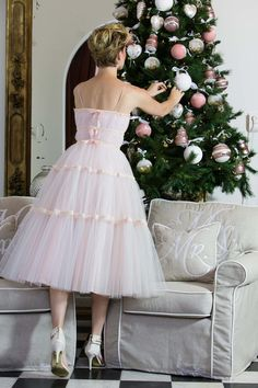 Christmas tulle dress♡♡♡♡♡