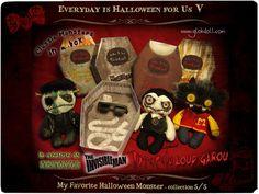 mika & les GLOKdoll pour notre cinquième et dernière collection de nos 11 Artistes d'Everyday is Halloween for Us (cliquez sur l'image pour avoir toutes les infos)