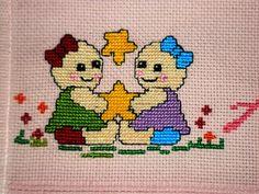 betart artesanatos bordados Ponto cruz toalha cor