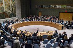 The Security Council votes on resolution reiterating its demand that Israel immediately and completely cease all settlement activities in the occupied Palestinian territory, including East Jerusalem. The vote was 14 in favour, with one abstention (United States). UN Photo/Manuel Elias