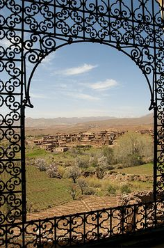 Morocco - 093 | The fantastic crumbling kasbah at Telouet. T… | Flickr