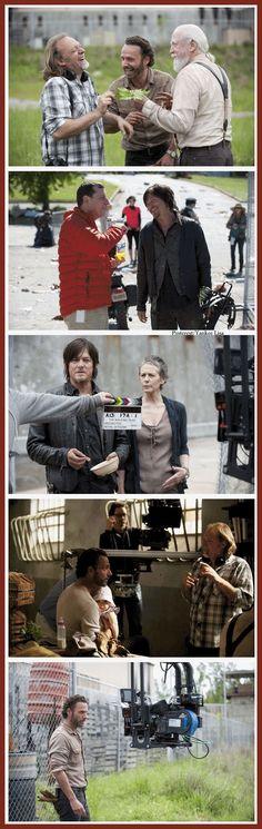 Greg Nicotero - Andrew Lincoln - Norman Reedus - Melisssa McBride  - Scott Wilson -The Walking Dead Cast