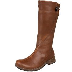 This was exactly what I was looking for. The boot looks great and not as chunky as other ones. I first thought it was too small and narrow but it widened very quickly and even though there isn't a ton of wiggle room it is extremely comfortable. The leather is very soft and flexible. The boot shaft is also not as narrow as some and fits me with my 'fat' calves perfectly.