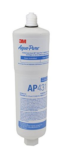 Aqua-Pure AP431 Scale Inhibition Replacement Cartridge, Easy Change High Capacity Water Filter for AP430SS - If you've got A3 maqua-pure AP430 or ap430-ss hot water filter system, and you need some Replacement filters, look no further. The AP431 is the Replacement filter for your system.
