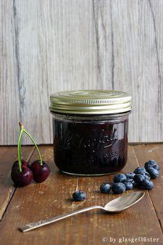 Kirsch Blaubeer Marmelade