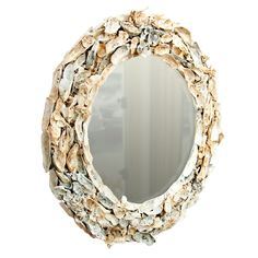 oyster shell mirror - make it!