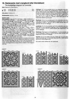 "Photo from album ""ch dec 16 on Yandex. Knitted Mittens Pattern, Knit Mittens, Knitting Charts, Knitting Patterns, Cool Patterns, Stitch Patterns, Fair Isle Chart, Scandinavian Pattern, Hungarian Embroidery"