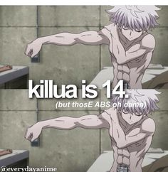 Anime facts hunter x hunter. I'm dying how can he have such a perfect six pack with 14 Killua, Hisoka, Zoldyck, Hunter X Hunter, Hunter Anime, Anime Manga, Anime Guys, Hot Anime, Anime Boyfriend
