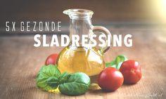 Gezonde sladressing (glutenvrij & suikervrij)