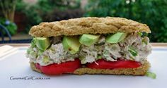Gourmet Girl Cooks: Chicken Salad Subwich -- Low Carb, Quick & Easy