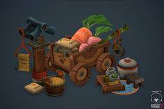 Pandaren Stuff, Antonio Neves on ArtStation at http://www.artstation.com/artwork/pandaren-stuff