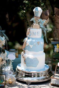 Beautiful 3 tirerd birthday cake