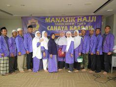 Ustad Yusuf Mansyur memberikan tausiah dan doa pada manasik Haji 2014 M CAHAYA KAABAH TOURS & TRAVEL