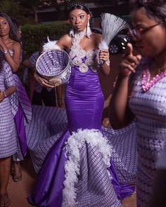ESIGN Wedding Prep, Dream Wedding, African Wedding Attire, African Traditional Wedding, African Design, African Dress, African Fashion, Fashion Outfits, Wedding Dresses