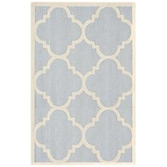 Shop Safavieh  CAM140A Cambridge Area Rug, Light Blue / Ivory at ATG Stores. Browse our area rugs, all with free shipping and best price guaranteed.