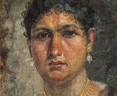 Amazingly realistic Fayum portrait of a middle-aged woman. 1st cent. CE.