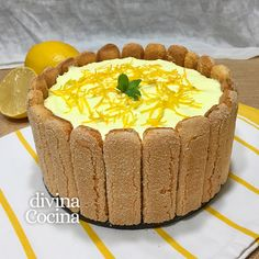 You searched for carlota de limon - Divina Cocina Flan, Chesee Cake, Mexican Pastries, Chocolate Garnishes, Candy Cakes, Chocolate Covered Strawberries, Creative Cakes, No Bake Desserts, Tapas