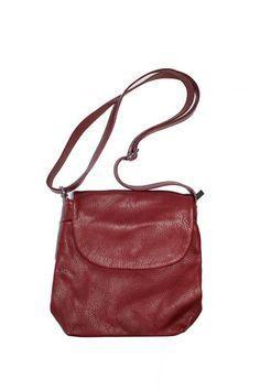 Crossover-Tasche mit Überschlag