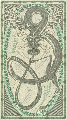 Dollar Bill Collages by Mark Wagner