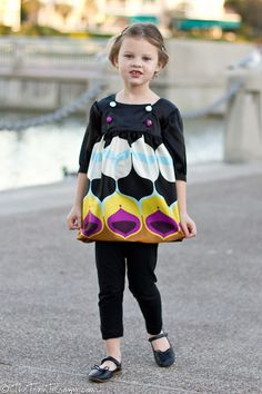 So cute! I love the fabric print!