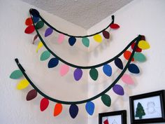 It's Always Something: Christmas Light Garland