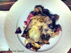 As Delícias das Guerreiras: Salsichas frescas gratinadas com couve lombarda e ...
