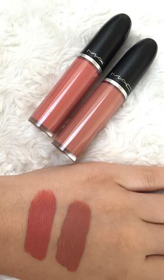 Check out my review of the MAC Retro Mac Liquid Lipcolours in Lady Be Good and Back in Vogue on www.melsbeautyblo...