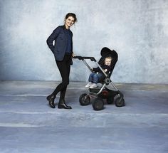 so chic & modern.... stunning Scandinavian designed Stokke Scoot Stroller