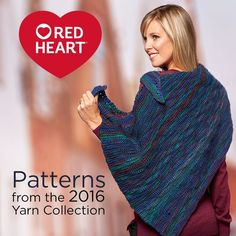 Patterns from the 2016 Yarn Collection -- Did you know we launched nine new yarns in 2016? Here are our favorite patterns that go along with the new yarns. Be sure to check out all of the other free patterns we designed as well! Click on the image to go to the free pattern.