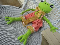 Frog with style