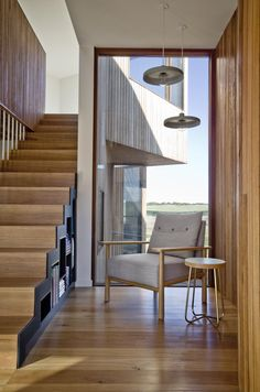 Beach House Stair and Reading Nook - contemporary - Staircase - Geelong - Auhaus Architecture Architectural Technologist, Contemporary Beach House, Interior Architecture, Interior Design, Melbourne Architecture, Three Bedroom House, House Stairs, Loft Stairs, Staircase Design