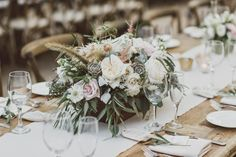 Spreading floral love.: Loving this Villa rustic/organic wedding.  Photos by:  Adrian Jon Photography  Flowers by:  Floral Occasions  Venue:  The Villa, San Juan Capistrano