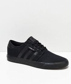 competitive price 0f7a1 dee47 adidas Seeley Black Shoes. Zapatillas Originales