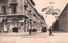 Torino , via Cernaia Piedmont Region, Turin Italy, Art Nouveau Architecture, Northern Italy, Opera House, 19th Century, Susa, Vintage, Gallery