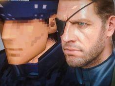 Solid Snake en Metal Gear series, 1998 y 2004.