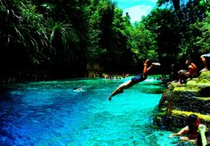 Swim the entire length of Philippine's Enchanted River.