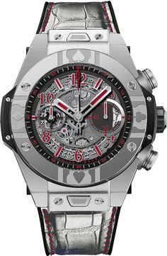 Hublot Big Bang World Poker Tour Watch steel