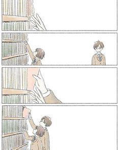 Kepentingan memiliki kawan yang lebih tinggi. 😊 Cute Couple Art, Anime Love Couple, Cute Anime Couples, Anime Chibi, Manga Anime, Anime Art, Aesthetic Art, Aesthetic Anime, Chibi Couple