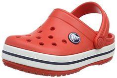 Crocs Crocband Unisex - Erwachsene Clogs, Rot (Flame/White 884), 22-24 EU (C6-7 Unisex - Kinder UK) - http://autowerkzeugekaufen.de/crocs/22-24-eu-crocs-crocband-unisex-erwachsene-clogs-5