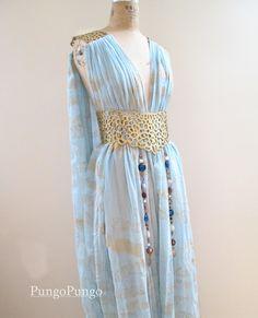 Game of Thrones Daenerys Targaryen Qarth Dress  by PungoPungo, $325.00