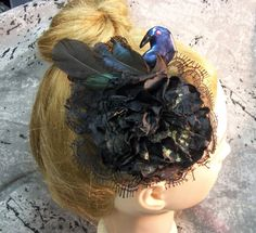 Steampunk fascinator