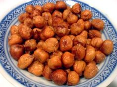Roasted Chickpeas with Apricot Wasabi Glaze - Wellsphere