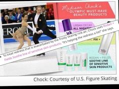 """Rodan + Fields SOOTHE Regimen was featured on youbeauty.com as Olympic Figure Skater Madison Chock's must-have beauty product. In the article titled, """"Beauty Secrets of US Olympic Figure Skaters,"""" Madison mentions that the SOOTHE Regimen helps to treat the redness exacerbated by the frosty skating rink air."""