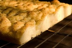 Focaccia: one of the joys of my life.
