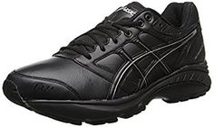 ASICS Women's GEL-Foundation Walker 3 Running Shoe *** You can find out more details at the link of the image. Good Walking Shoes, Wide Shoes, Shoes 2017, Asics Shoes, Asics Women, Buy Shoes, Black Onyx, All Black Sneakers, Running Shoes